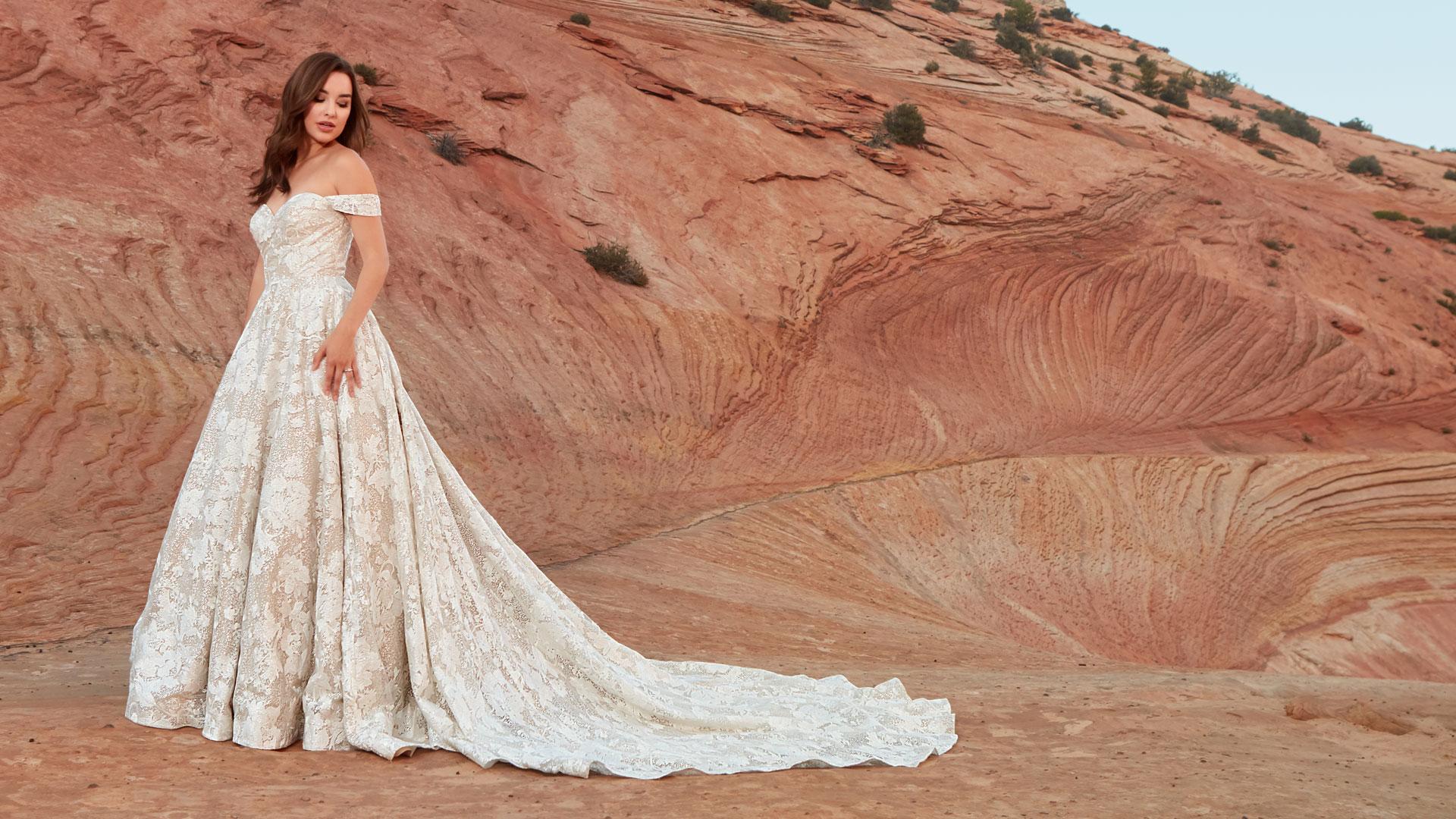 Designer Bridal Dresses | Shop Dresses by Ashley & Justin Bride